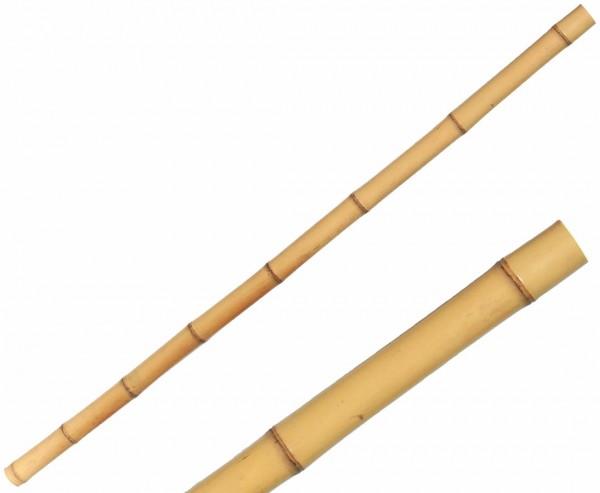 Bambusrohr gelb, Moso Bambus, gebleicht, Durch. 3,5- 5cm, Länge 200cm