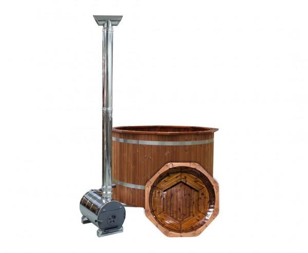 """Badefässer """"Premium"""" Set, Holz Ofen, Durch. 150cm"""