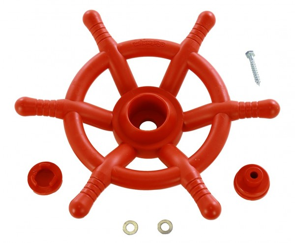 Steuerrad rot für Spielturm, Durchmesser 35cm