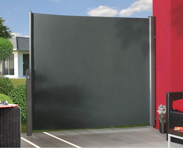 Seitenmarkise ausziehbar anthrazit 180x350cm