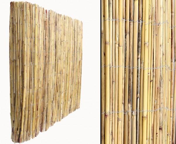 "Berg Bambusmatte 100x300cm ""Kawei"" naturbelassen"