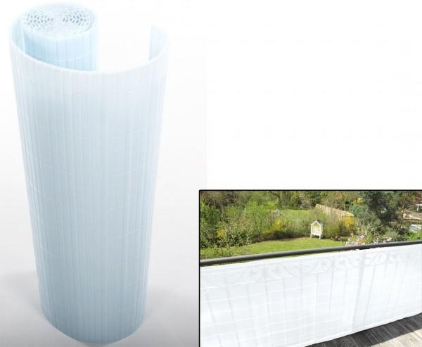 """Balkon Sichtschutz """"Sunshine"""" satiniert transparent 90 x 300cm"""