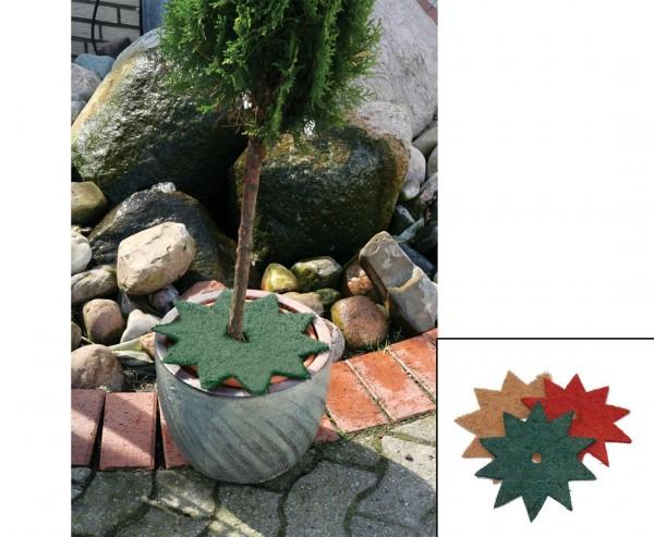 Topfabdeckung CocoStern, Durch. 40cm, grün