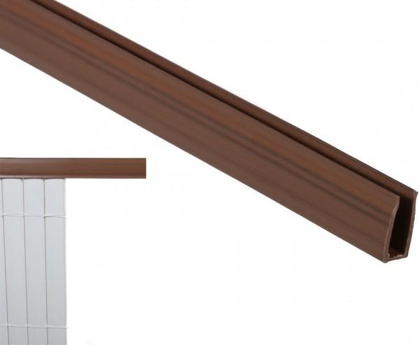 Kunststoffmatten U-Profil, Länge 150cm, für Sylt und Rügen, nussbaum