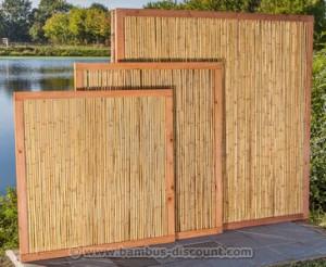 Sichtschutz aus Bambus jetzt bei bambus-discount.com