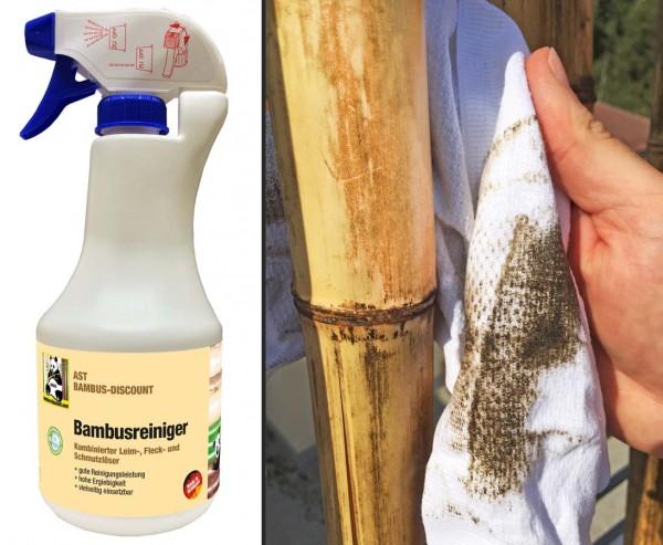 Bambus Reiniger gegen Verschmutzungen, Schimmel und Pilzbefall, 500ml Sprühflasche