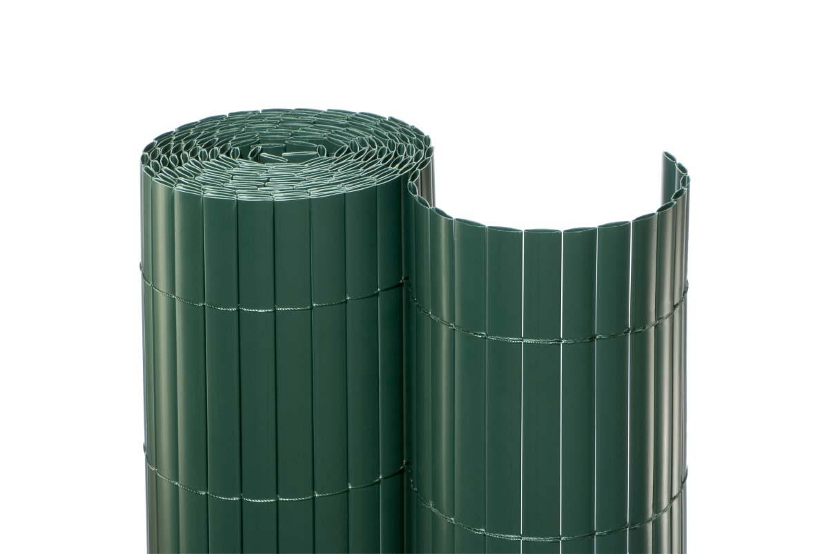 Zaun Sichtschutz Pvc Wien Eco 200 X 1 000 Cm Grun Gunstig Kaufen