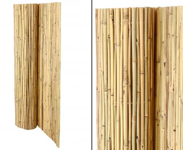 Bambusmatte Bali, extrem stabil, 150 x 300 cm, mit Draht durchbohrt