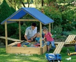 Sandkasten von bambus-discount