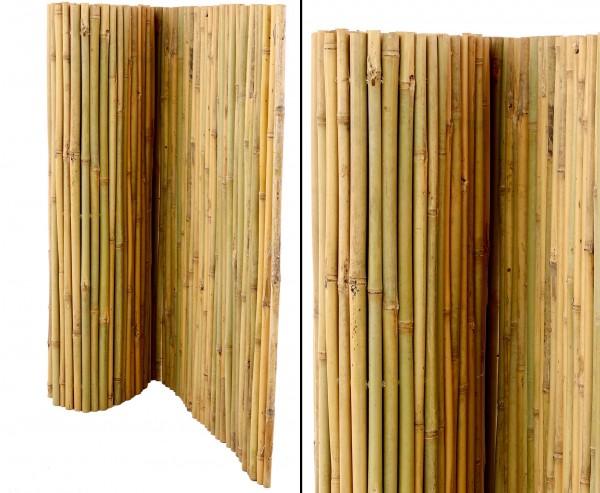 "Bambusmatte ""Bali"" extrem stabil, drahtdruchbohrt 90 x 300 cm"