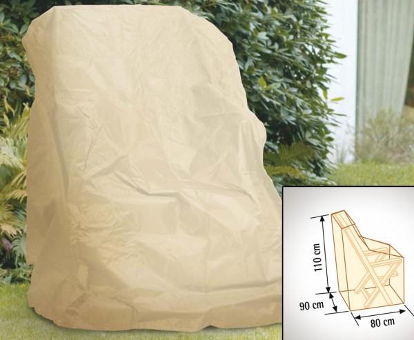 Schutzhaube, für Hochlehner Sessel, mit 110x90x80cm, beige-uni