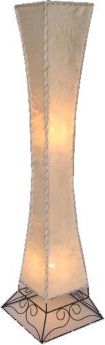 "Stehlampen ""Siam"" aus Naturmaterial, Höhe 118cm"