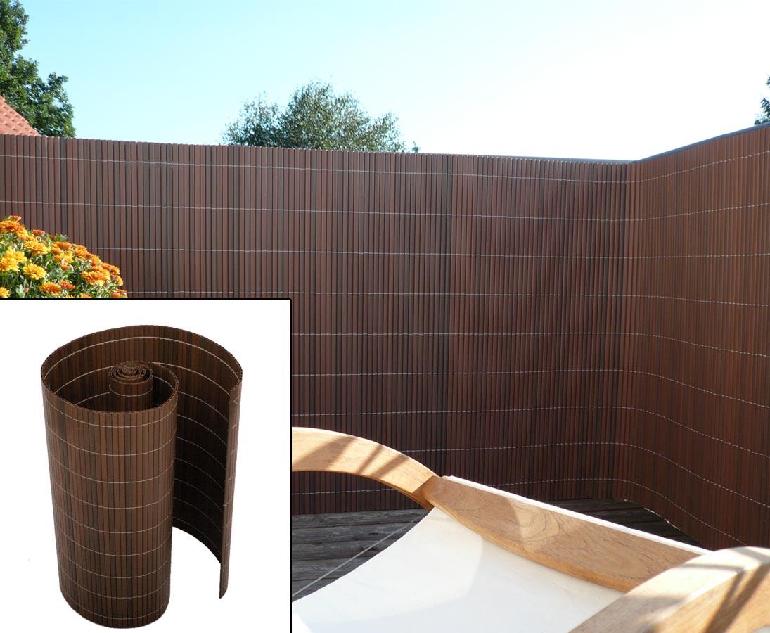 Sichtschutz aus Kunststoff für den Balkon günstig bestellen