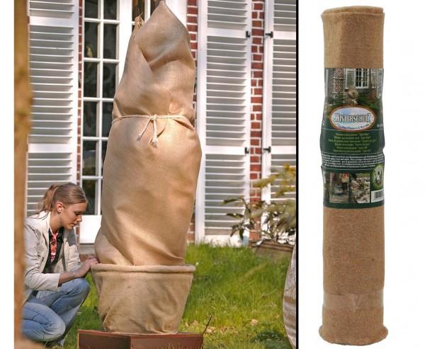 """Winterschutzmatte """"Jute-Filz"""", natur, Abmessungen ca. 50 x 150cm"""