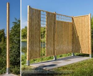Rankgitter als Sichtschutz bei bambus-discount.com