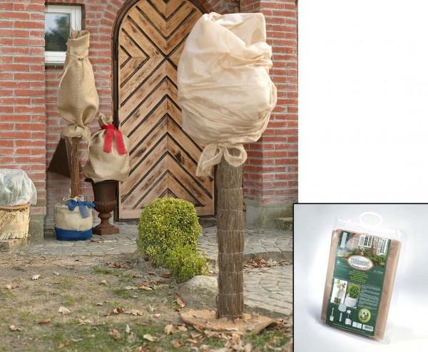 Winterschutz Vlies, Abmessungen ca. 150 x 500cm, beige, 34g