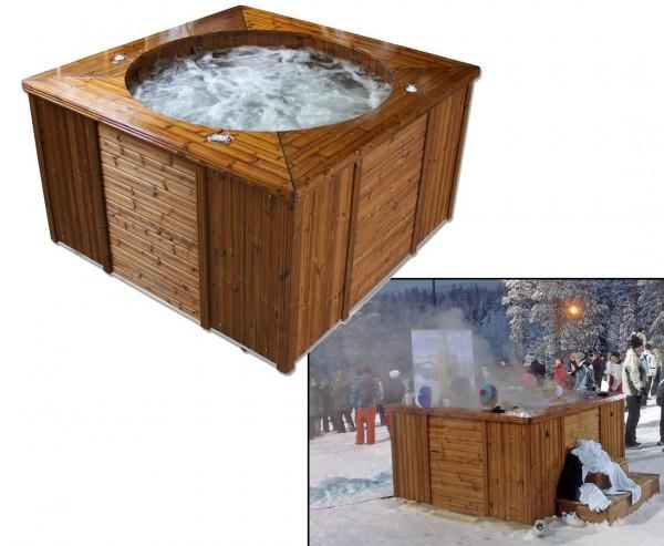 """Hottub """"Premium Aqua"""", isoliert mit 4 Massage Module, Elektro"""