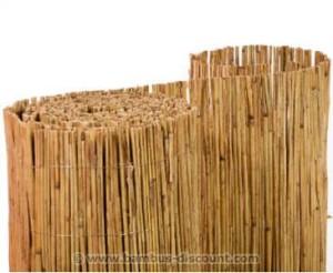 Natürliche Schilfmatten zur stilvollen Dekoration von Garten und Balkon - bambus-discount.com