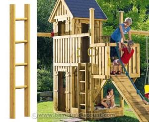 Holzspielhäuser für Kinder von bambus-discount.com