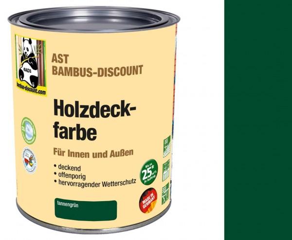 Holzfarbe tannengrün 0,75 Liter für innen und außen, perfekt für Spieltürme