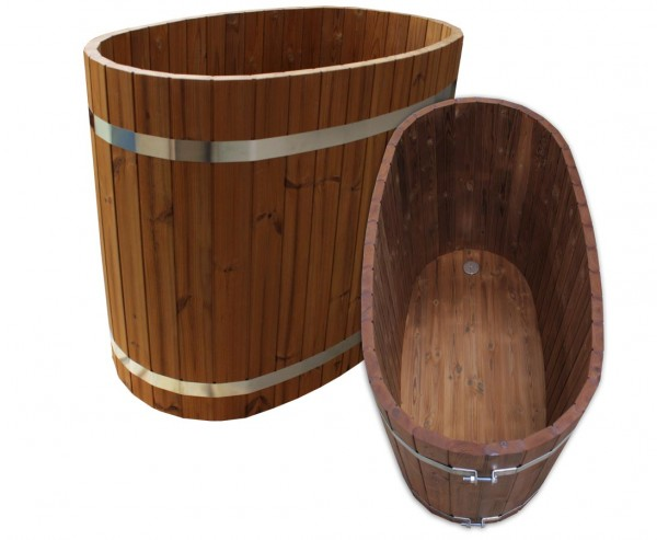 Badezuber aus Holz, Set1