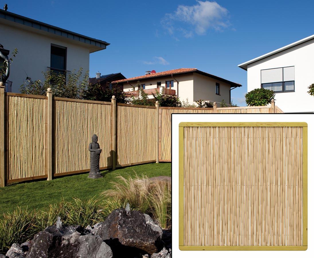 Bambus Sichtschutz Als Wand Mit 179x179 Hier Kaufen