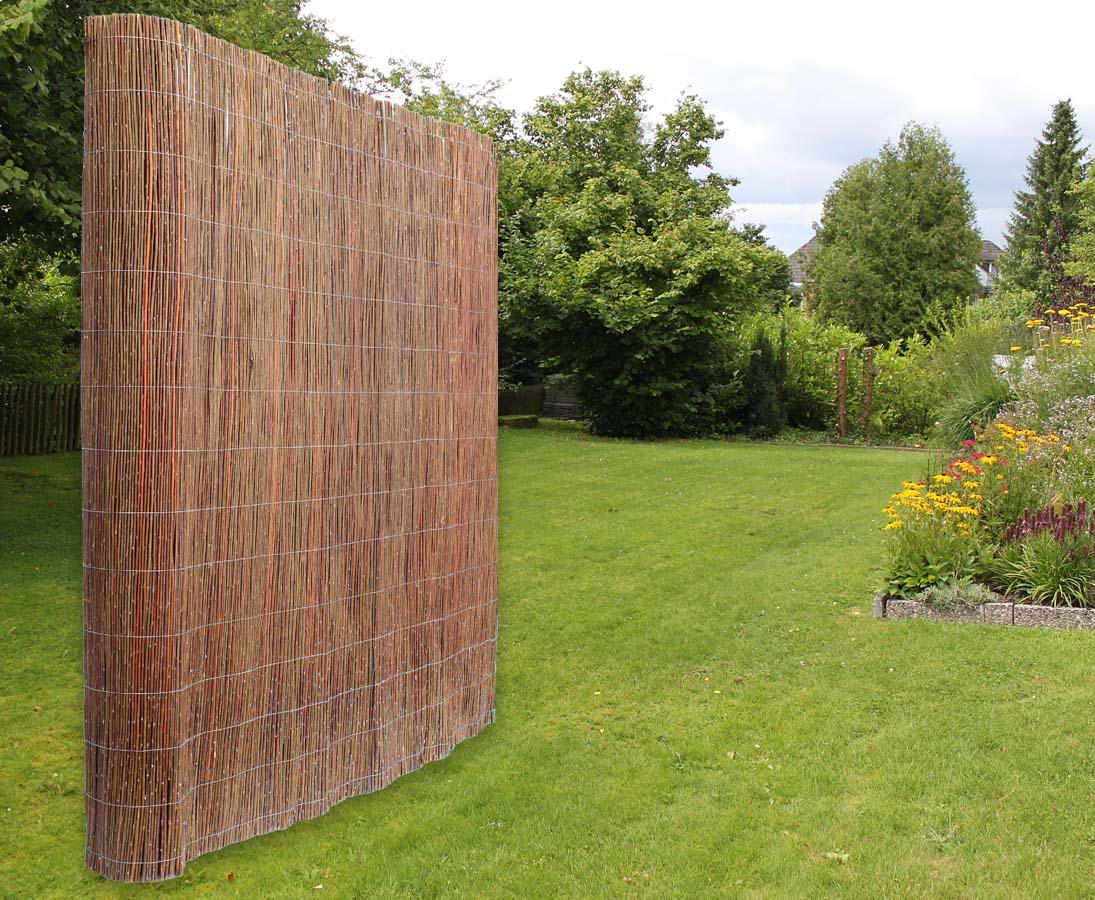 Weidenmatten Zur Zaunmontage Mit 180cm Jetzt Bestellen