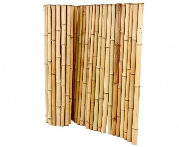 "Bambusmatte Rollzaun ""Bali Big"" 100 x 200cm mit 3,5 bis 5cm Ø"