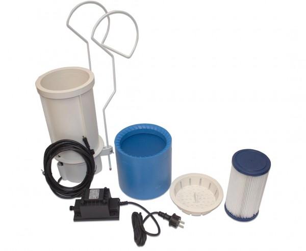 Wasseroberflächen Reinigungsgerät Skimmer mit Filter und Kabel