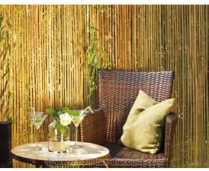 Die Sichtschutz Bambusmatte Seoul von bambus-discount.com