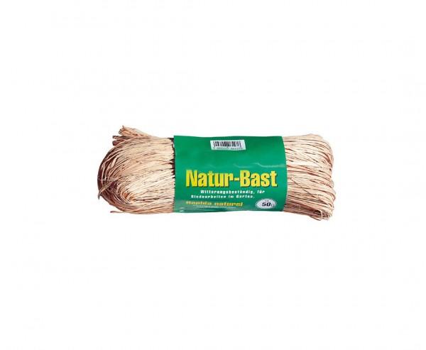 Naturbast, 50 gr. Banderole natur