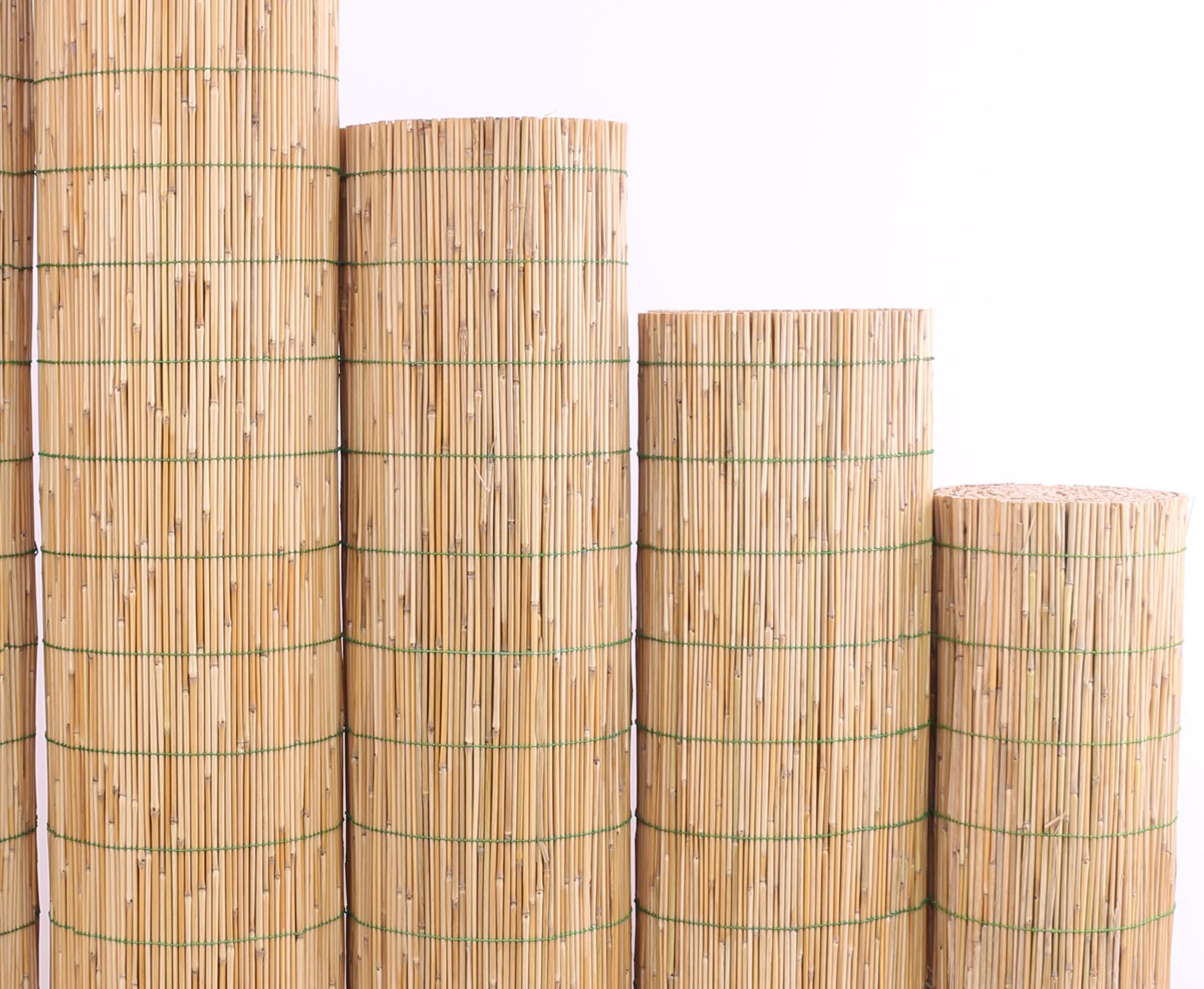 Schilfmatten Mit 180x600cm Als Terrassen Sichtschutz Gunstig Kaufen