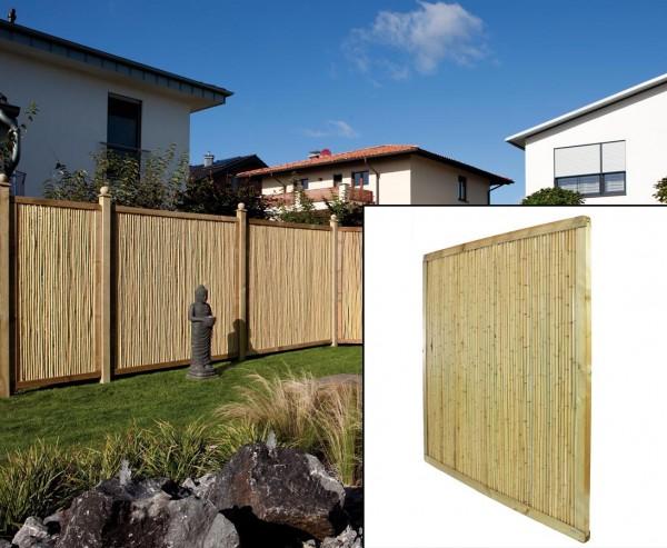 "Bambuszaun ""Phuket Bambu"" 179x179cm, Premium"