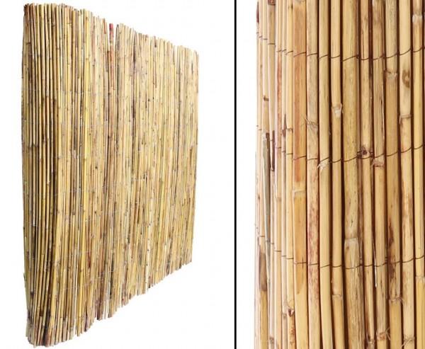 """Sichtschutzmatte aus Berg Bambusrohren """"Kawei"""" 150 x 300cm"""