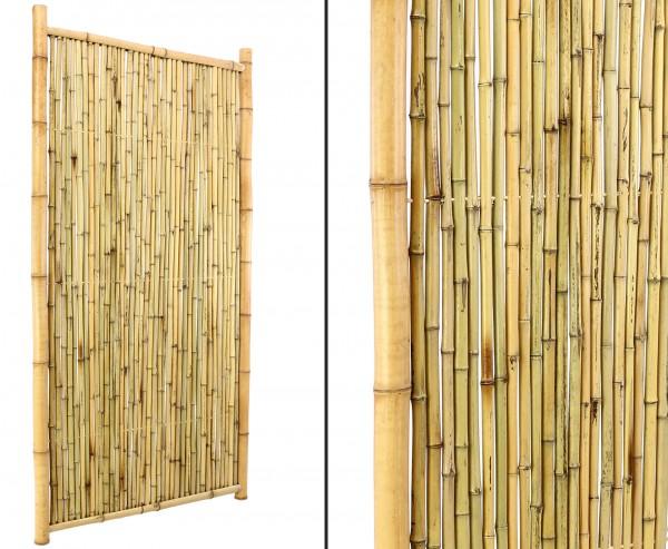 """Bambus Sichtschutz """"TEN"""" geschlossen 180 x 120cm"""