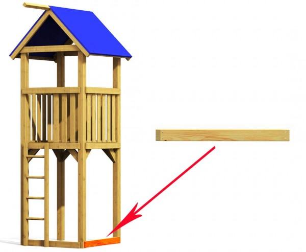 Systembalken für Basis Spielturm, kurz 98cm