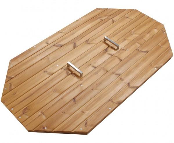 Abdeckung für Badewanne aus Holz für Relax