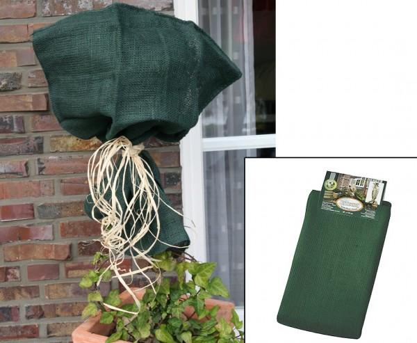 Jutesack für Pflanzen im Winter mit 230g/qm, Höhe 110cm, Breite 100cm