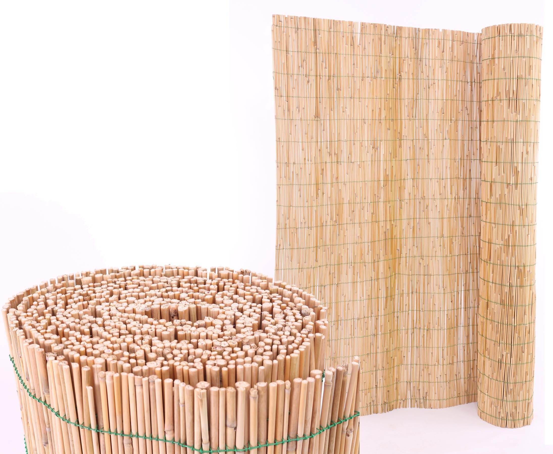 Schilfrohrmatte Mit 140x600cm Als Garten Sichtschutz Hier Kaufen