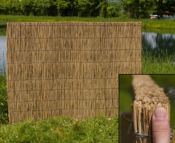 Schilfplatten Schall- und Wärmedämmer 100 x 200cm, 5cm stark