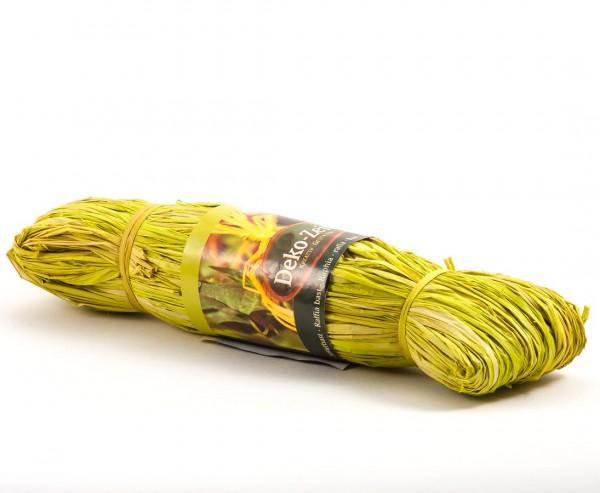 Naturbast hellgrün, 100cm lang
