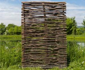 Natürlicher Sichtschutz aus Bambus von bambus-discount.com
