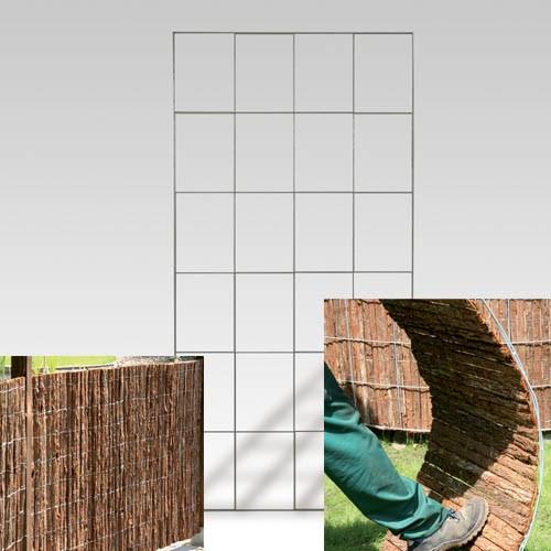 "Zaunsystem gerade "" Barcelona"" 145 x 120cm"