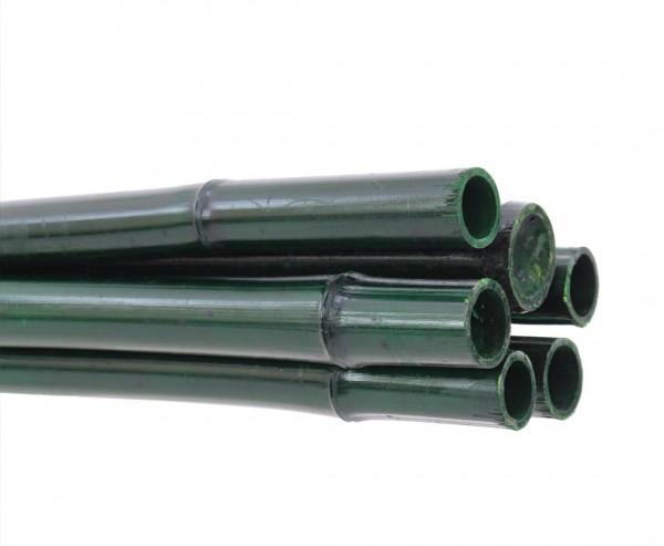Bambusrohr grün gefärbt 200cm Durch. 2,8 bis 4cm, Moso