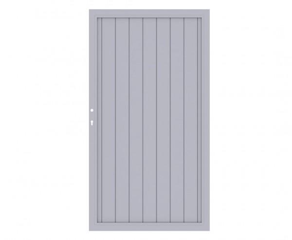 "Zauntor grau, ""Longlife Riva"" 180x98cm aus Kunststoff"