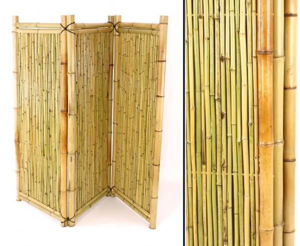 Paravent aus Bambus 3teilig mit 150 x 180cm