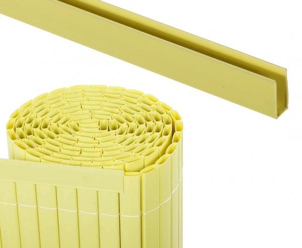 Kunststoffmatten U-Profil, Länge 150cm, für Sylt und Rügen, pastellgrün