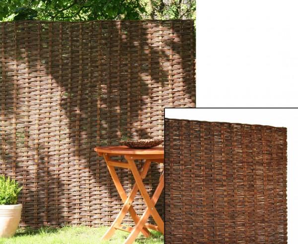 """Sichtschutz Weidenelement """"Paris"""" 150 x 90cm natur"""