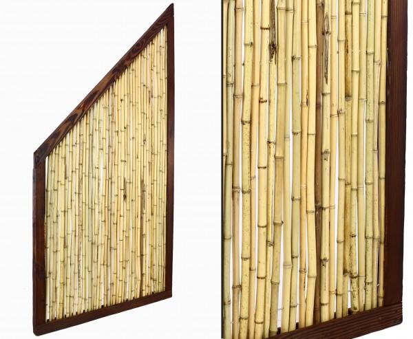 "Bambus Abschlusselement ""KohSamui Klassik"" 180/90 x 90cm"