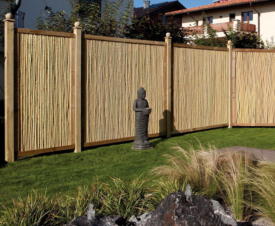 Bambus Sichtschutz Als Element Mit 179x89 Online Bestellen